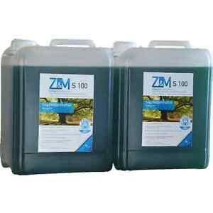Bio-Kettenoel-2-x-5-Liter-Z-amp-M-S100-Saegekettenhaftoel-Saegekettenoel-Haftoel