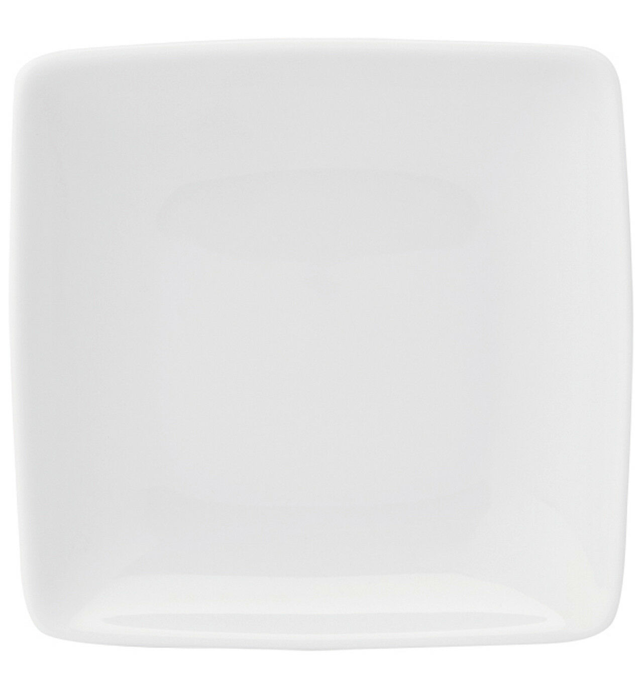 Vista Alegre Carré Weiß Charger Charger Charger Plate - Set of 12 18f14c