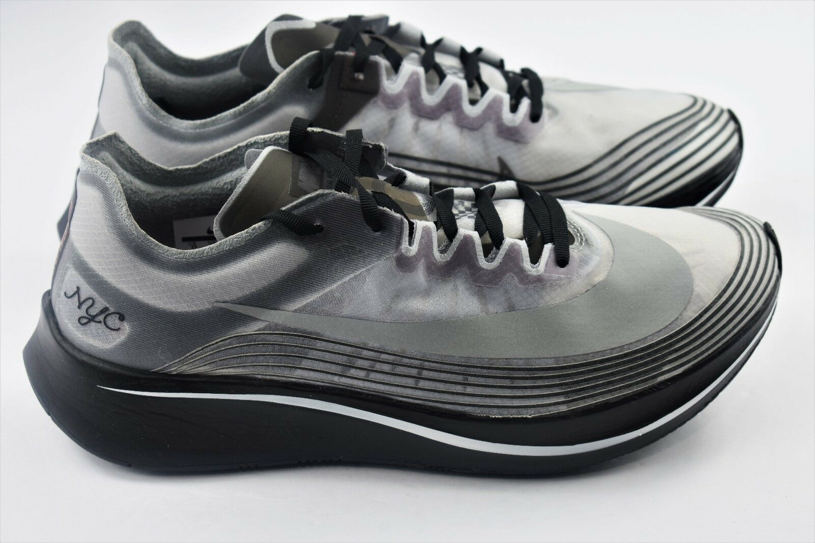 Nike Nikelab Zoom Fly NYC Mens Size 5 SP Running Shoes Womens Size 6.5 AH5088