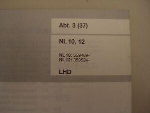 Service Manual Wiring Diagram Volvo Truck Nl10 Nl12 03 1991