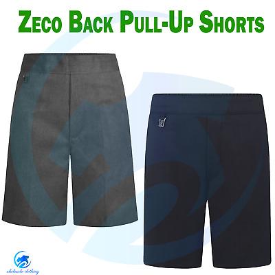 ZECO New School Uniform Trousers Full Elastic Waist Pull Boys Pants 2//3 to 15//16