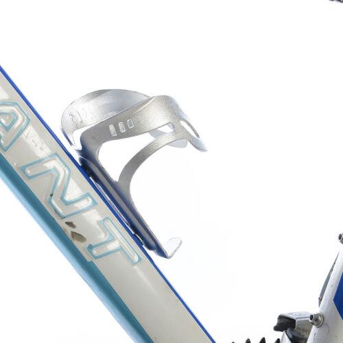 RockBros Cycling Bike Aluminium Alloy Water Bottle Cage Silver Bottle Holder