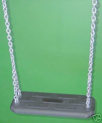Schaukelsitz aus Gummi mit Stahlkern, Ketten und Gelenk Gelenk Gelenk 1e0387