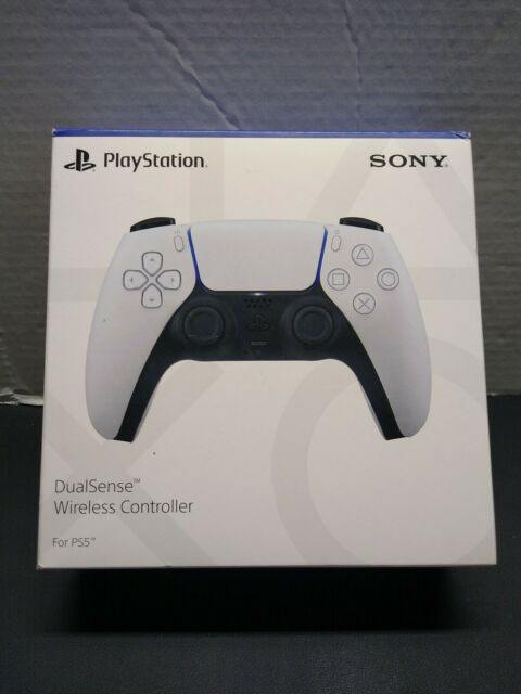 Sony Playstation 3005715 DualSense Wireless Controller Ergo White Black - Tested