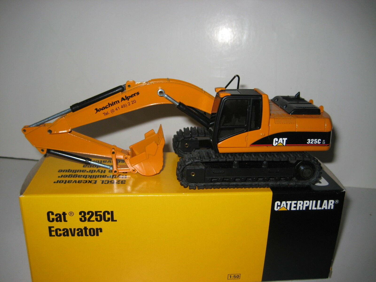 Caterpillar 325 CL Excavator Deep Spoon Alpers  515 NZG 1 50 OVP