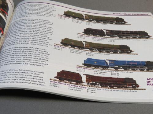 MTH 2009 VOLUME 2 TRAIN CATALOG product publication manual book