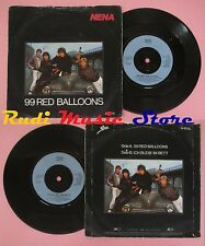 LP 45 7'' NENA 99 red balloons Ich bleib'im bett 1983 england EPIC no cd mc dvd