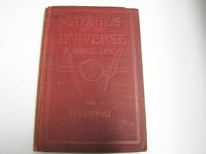 j071-Vintage-Book-1909-Stories-of-the-Universe-Animal-Life-by-B-Lindsay