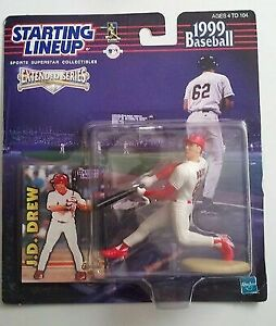 1999 Baseball STARTING LINEUP MLB Mark McGwire St Louis Cardinals Kenner SLU