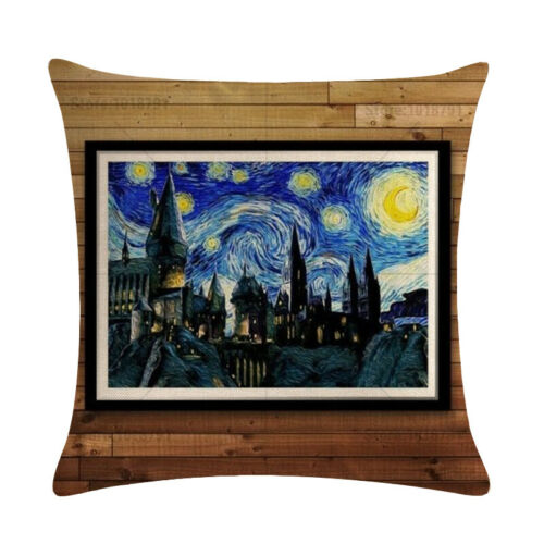 Harry Potter Character Pillowcase Cushion Case Home Decoration Cushion Cover U78