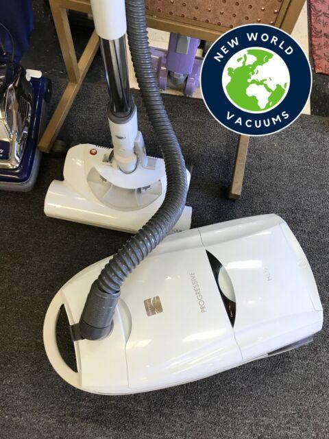 Kenmore 116 Progressive HEPA Canister Vacuum Cleaner White