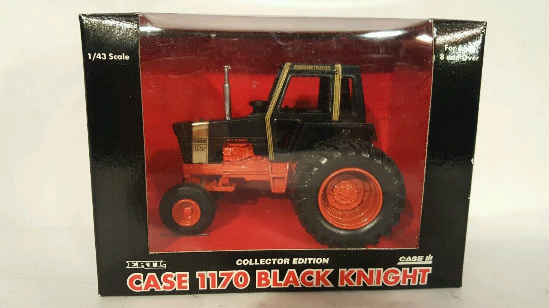 punto de venta en línea Ertl Case 1170 1170 1170 Caballero Negro 1 43 diecast coleccionables réplica de tractor de granja  online al mejor precio
