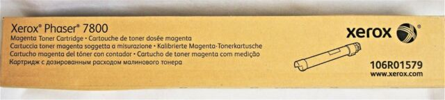 Original Xerox 106R01579 Magenta Toner Cartridge Phaser 7800
