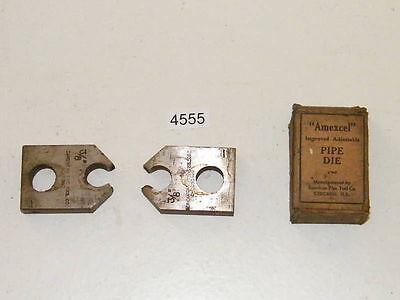 Einfach American Rohr Einfädler Schablone Köpfe 3/8 Rechts GroßEr Ausverkauf