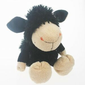 Stuffed Animals 25 Cm Girl Flower Black Sheep Soft Toy Baby Dolls