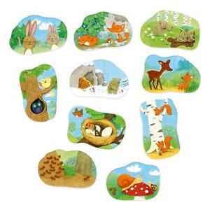 1 2 Tierkinder Spiel Deutsch 2013 Puzzelei
