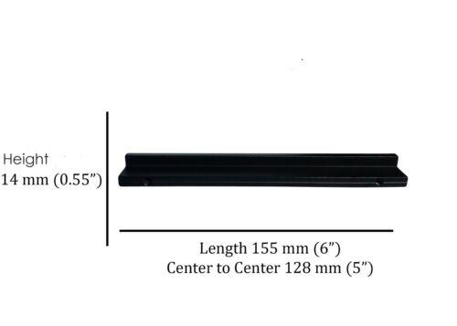 Knobs Handles Pulls Kitchen Cabinet Hardware in Matte Black AL1103 by KPT