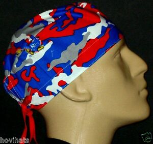 KU-KANSAS-UNIVERSITY-CAMOUFLAGE-SCRUB-HAT-FREE-CUSTOM-SIZING