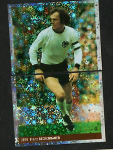 Franz-Beckenbauer-1974-2-Panini-Soccer-CARD-Mint-n-4-5-Ed-DS-France-98-WC