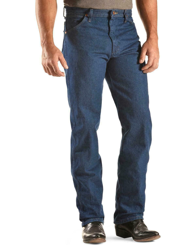 Wrangler Cowboy Cut Original Fit Jeans, 13MWZ, Prewash Indigo , Size 30X32