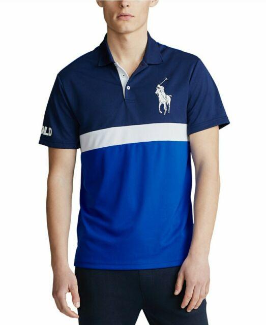 Ralph Lauren Polo Performance Mens XS Button up Shirt Short Sleeve Blue