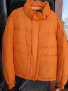 reputable site ca4dd facfd Dettagli su Saldi giaccone piumino Stefanel arancione. Prezzo listino 200€