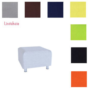 Custom-Made-Cover-Replacement-Slipcover-Fits-IKEA-KLIPPAN-Footstool
