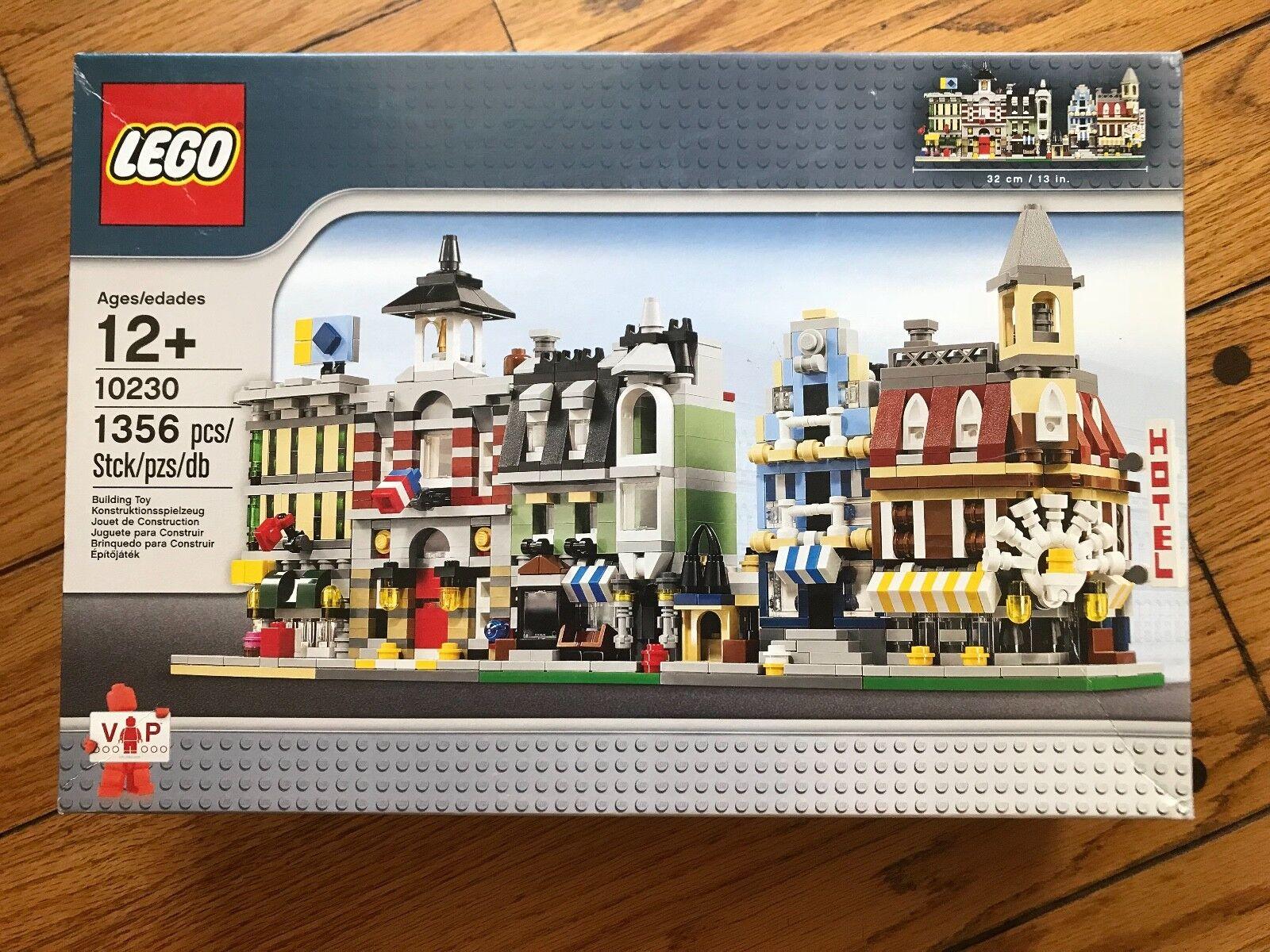 BRe nuovo Lego 10230 MINI MODULARS  With  some very light shelf wear   alta qualità