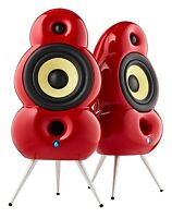 Podspeakers Minipod Red Speakers For Stereo And Surround (pair) on sale