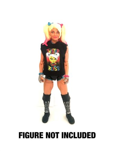 "WWE Alexa Bliss /""Twisted Bliss/'s Custom Shirt pour Mattel figures."