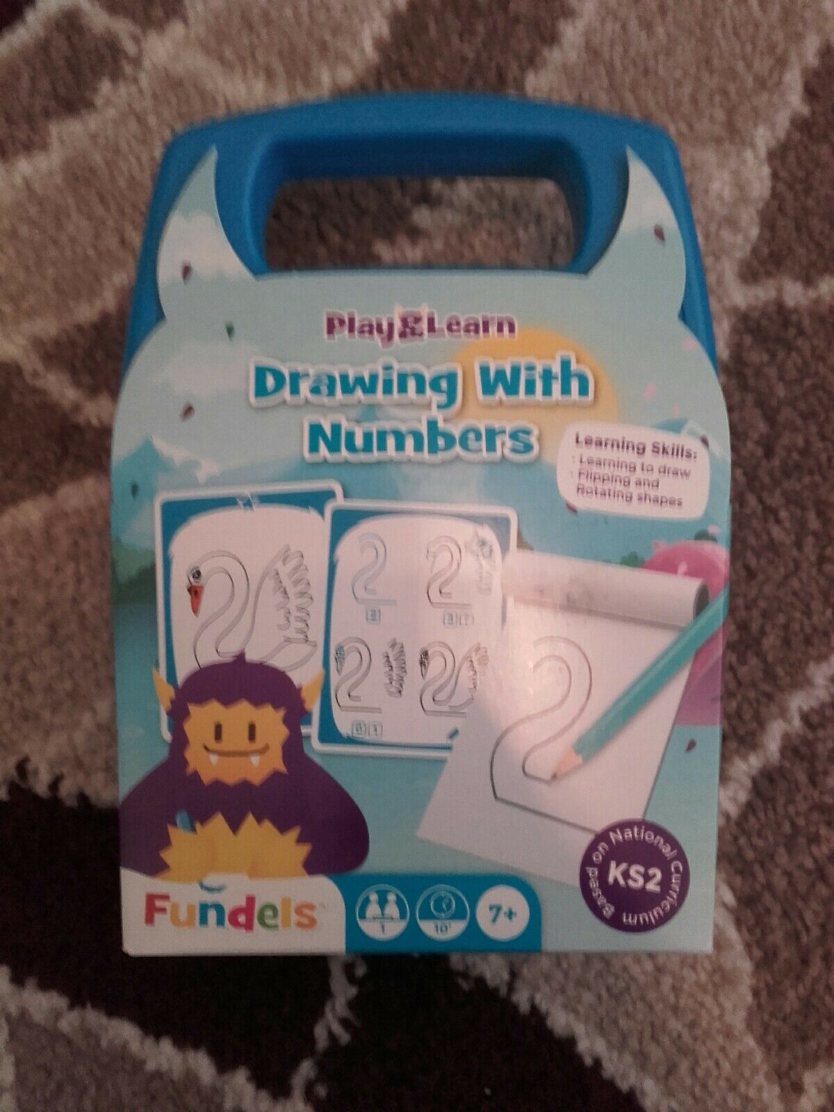 Fundels Play /& Learn Drawing with Numbers Game