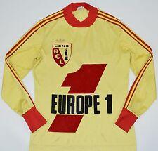 1979-1980 RACING CLUB LENS ADIDAS VENTEX HOME FOOTBALL SHIRT (SIZE S)