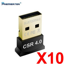 Lot of 10 Dual Mode Bluetooth 4.0 USB Dongle Low Energy CSR8510 WHOLESALE