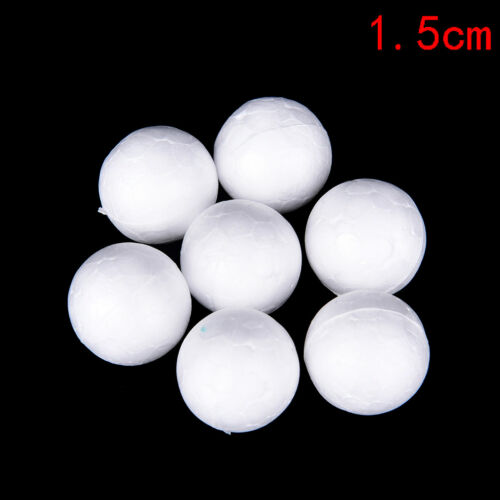30PCS 10-50mm Modelling Polystyrene Styrofoam Foam Ball Cute YNFUK