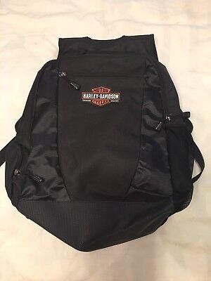 Harley Davidson Backpack NWOT Black Padded