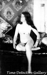 New Orleans LA Bellocq Historic Photo Print Storyville Prostitute #8 by E.J