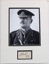 Field Marshal Edmund Allenby Prominent British Commander Autograph Display Rare