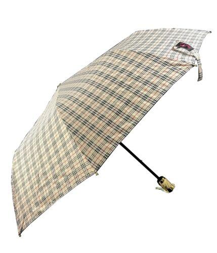 Windproof Fiberglass Umbrella Semi Automatic Folding Umbrella