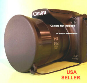 FRONT-SLIP-ON-LENS-CAP-to-CAMERA-CANON-POWERSHOT-SX430-IS-SX430IS-SX-430-HOLDER