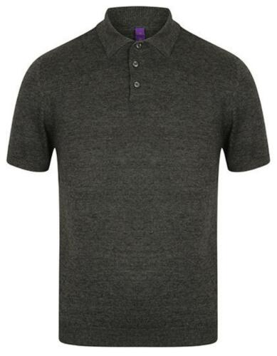 Uomo Knitted Short sleeved PoloHenbury