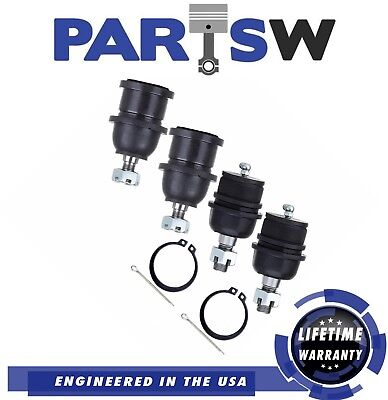 19 Pc New Suspension Upper /& Lower Ball Joints Tie Rod for F150//F250 NAVIGATOR