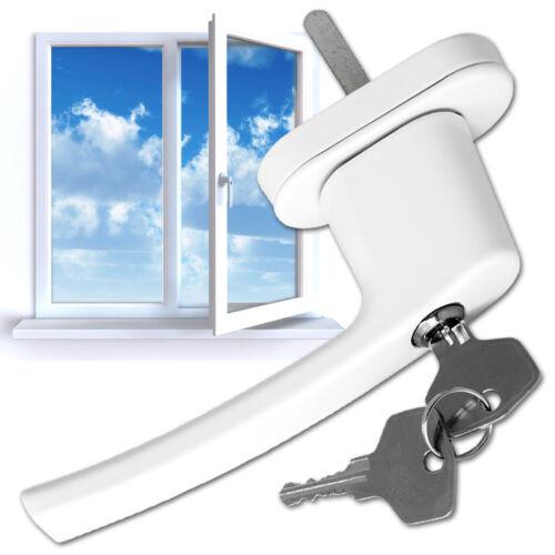 Fenstergriffe abschließbar Sicherheitsfenstergriff weiß Fenstergriff NEU