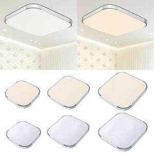 18W-48W Modern LED Ceiling Light Square Surface Mount For Living Room Lamp AD72