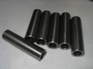 """Steel Tubing //Spacer//Sleeve 1//2/"""" OD X 3//8/""""  ID  X 24/"""" Long 1 Pc DOM CRS"""