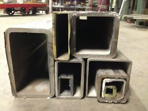 "STAINLESS STEEL SQUARE TUBE 2-1/2""x2-1/2""x1/4""x 24"" 304"