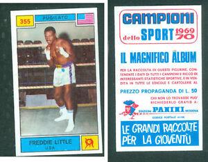 Freddie-Little-USA-Panini-Boxing-CARD-1969-Brand-New-n-355