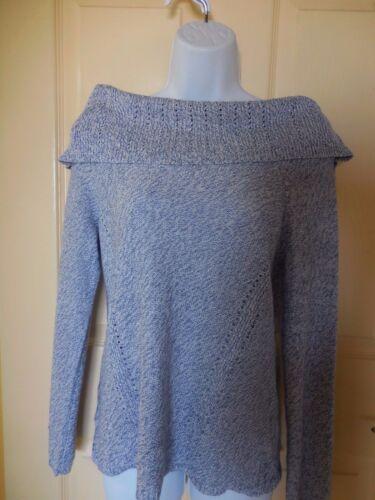White House Black Market Off The Shoulder Marled Shine Sweater Please Choose
