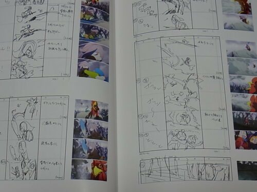 Little Witch Academia Story Board Art Book Vol.1-9 Epi01-25 complete set