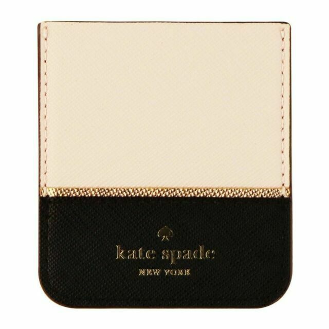 Find Many Great New Used Options And Get The Best Deals For Kate Spade Phone Wallet Iphone 6 Case Clutch Bag Card Holder Leather Black At