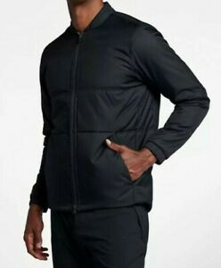Nike-Synthetic-Fill-Insulated-Men-039-s-Golf-Jacket-Black-932309-SUMMER-SALE